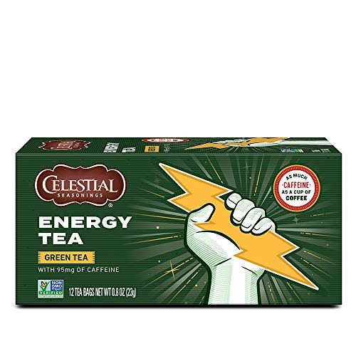 Celestial Seasonings Energy Tea, Energy Tea, 12 Count (Pack of 6)