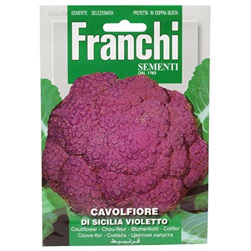 Franchi Samen Blumenkohl Violetto Sicilia