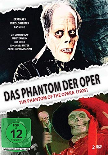 Das Phantom der Oper (Kolorierte Fassung, 2 Discs)