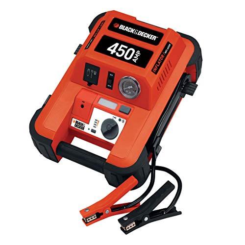 Preisvergleich Produktbild Black + Decker BDJS450I Sofort - Starthilfe 450 Ampere mit 8 bar Kompressor