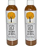 Caleb Treeze Organic Farm'Stops Leg & Foot Cramps (in About One Minute)' 8 fl. oz, 2 Pack
