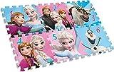 Disney Frozen- Alfombras de Juego y gimnasios (Kids Licensing KD-WD20124)