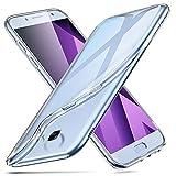 ESR Coque pour Samsung A5, Coque Galaxy A5 Silicone, Samsung Galaxy A 5 Coque Transparente Silicone Gel TPU Souple, Etui de...