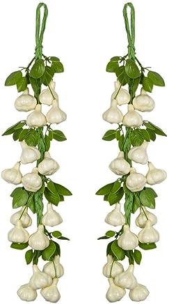 Garden Art Artificial Garlic Hanging Fruits (Garlic)