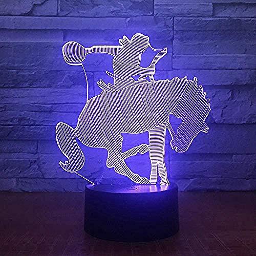 Hallucinatie kamer knop kleur kerstman Cartoon tafellamp meisje kampvuur kinderen Gift Tafel Decoratie Cartoon Huishoudelijke Lamp Tafel Modellering voor nieuwe Emotionele Bureau Model