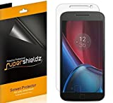 (6 Pack) Supershieldz Designed for Motorola Moto G4 Plus and Moto G Plus (4th Generation) Screen Protector, High Definition Clear Shield (PET)