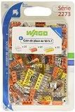 Wago WAG2273/PAN100 - Morsetti, confezione da 50 pezzi, 20 a 2 poli, 60 a 3 poli e 20 a 5 poli