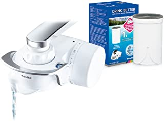 novita Faucet Water Purifier NP180 Bundle Pack, White,NP180/B