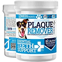 🔵 No More Plaque & Tartar – 100% Pure Seaweed Powder For Dogs Is An All-Natural Supplement To Fight Bacteria-Ladened Plaque & TarTar Build Up In Pets (No Need For Dog Toothbrush or Dog Breath Freshener Spray) 🔵 Freshens Bad Breath – Rich In Powerful ...
