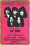 OSONA 1973 Uriah Heep Zz Top Earth Wind Fire Retro