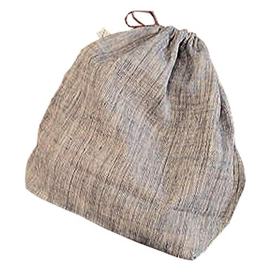 オアシス分解する望まないSHOKUの布 山葡萄かごバッグ用 オリジナル巾着袋