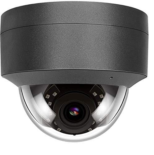 5MP HD POE IP Kamera Outdoor, IP Überwachungskamera 108° weiter Betrachtungswinkel IR Nachtsicht wasserdicht Bewegungserkennung Support Onvif Hikvision kompatibel