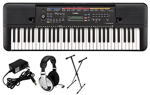 Great Features Of Yamaha PSRE263 Portable Keyboard Package with SXKS Stand