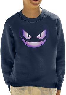 Cloud City 7 Gengar Fire Face Kid's Sweatshirt
