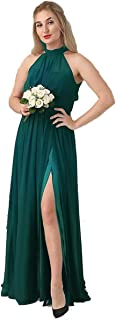 Loose Fit Casual Dress - Greenish Blue Color - For Women , 2725618904493