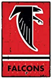The Poster Corp Atlanta Falcons - Retro Logo 2015