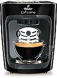 Tchibo Cafissimo mini Kaffeekapselmaschine (für Kaffee, Espresso, Caffé Crema und Tee) schwarz...
