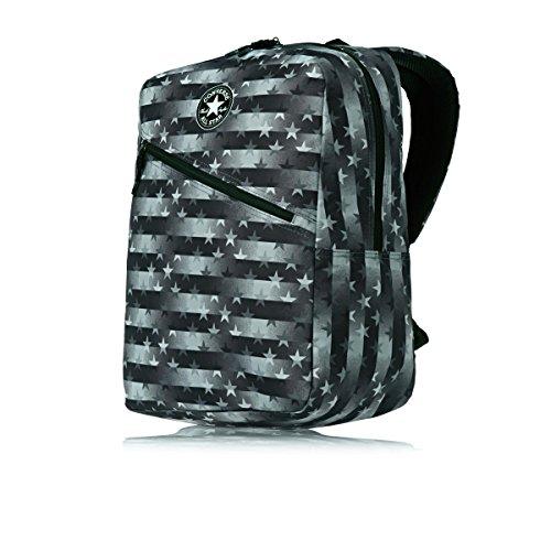 Converse Diagonal Zip Hombre Backpack Negro