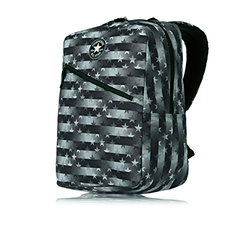 Converse Diagonal Zip Hombre Backpack Negro