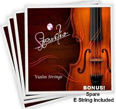 Full Set of Violin Strings Size 4/4 & 3/4 - G D A & E