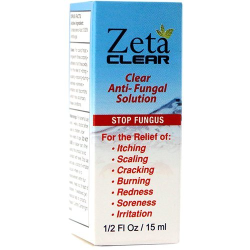 ZetaClear Nail Fungus Topical Treatment Solution - Remove Toenail Fungus, Nail Fungus Relief & Easy to Use, Promote Healthy Clear Appearing Nails - 3 Pack (3 Month Supply)