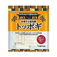 徳山物産 大阪鶴橋トッポギ 100g×40袋(20袋×2ケース)