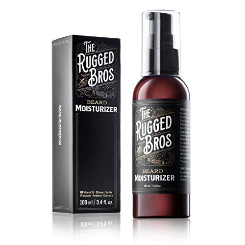 Beard Moisturizer for Men by The Rugged Bros -...