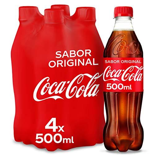 Coca-Cola Original Taste bottiglia di plastica 50 CL (confezione da 4)