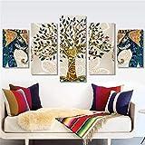 Pittura diamante 5D fai da te, animale blu pavone paesaggio naturale a punto croce pittura decorativa, ricamo pittura strass di cristallo immagini di arte artigianale,tree