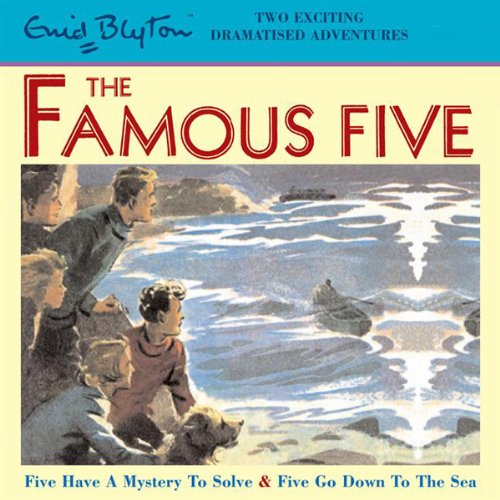 Famous Five audiobook cover art