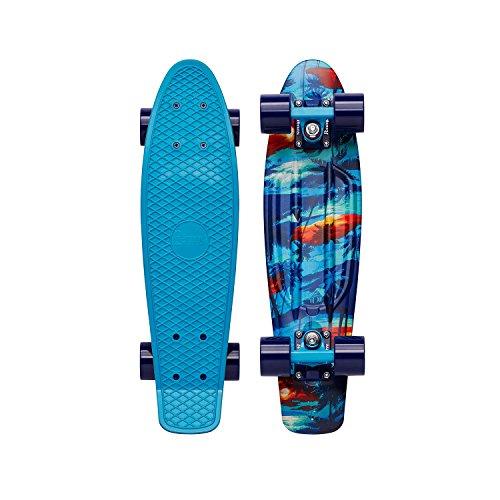 Penny Cruiser - Skateboard unisex da adulto, Unisex adulto, multicolore (multicolore), 22