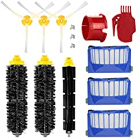 energup Reemplazo de Accesorios Kit para Roomba 600 650 620 651 621 616 605 Filtro de Repuesto Accesorios