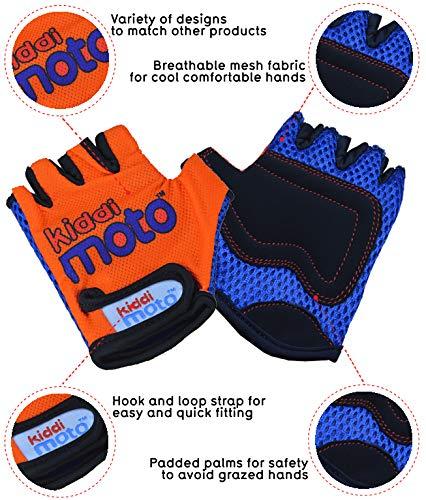 Kiddimoto GLV007S GLV007S-Handschuhe, Gr.S, 2-5 Jahre, orange, S - 2