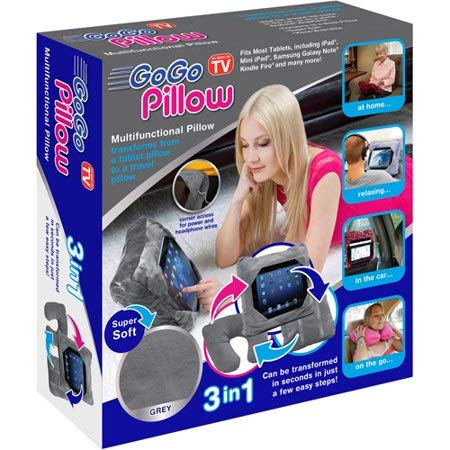 Price comparison product image As Seen on TV GoGo Pillow Tablet Holder,  Gray