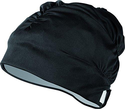 Aqua Sphere Aqua Comfort - Gorro de natación, Color Negro