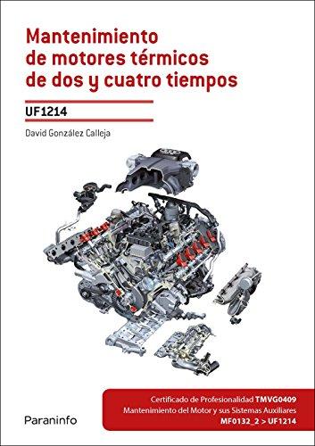 Mantenimiento de motores térmicos de dos y cuatro tiempos (Cp - Certificado Profesionalidad)