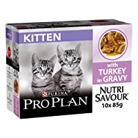 Complete and balanced wet food tailored for junior/kitten < 1 to help the growth and development of kittens' as they wean and grow. Contains the essential nutrients needed for healthy growth, and DHA to help support healthy vision and brain developme...