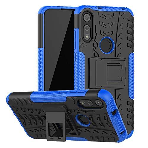 Moto E 2020 Case, Motorola E Case, SKTGSLAMY [Shockproof] Tough Rugged Dual Layer Protective Case Hybrid Kickstand Cover for Motorola Moto E 2020...