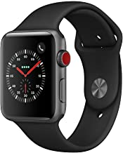 Apple Watch Series 3 (GPS + Cellular, 42mm) - Space Gray...