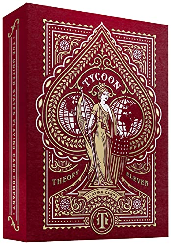 Tycoon Jeu de Cartes (Rouge)