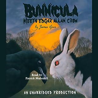 Bunnicula Meets Edgar Allan Crow audiobook cover art