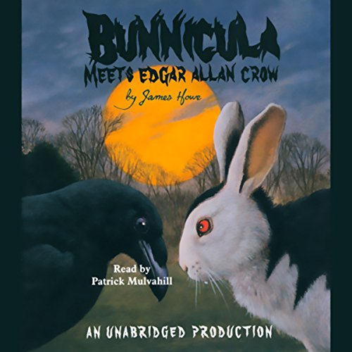 Bunnicula Meets Edgar Allan Crow audiobook cover art