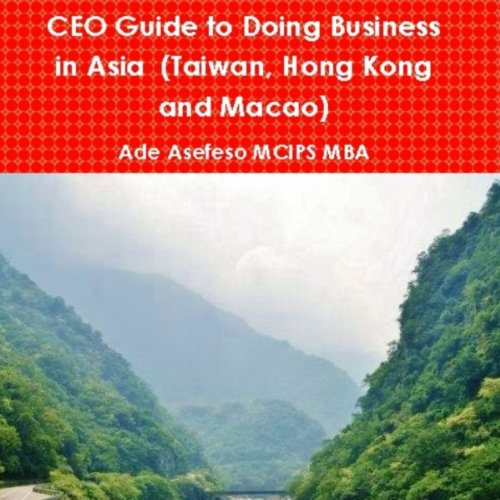 CEO Guide to Doing Business in Asia Titelbild