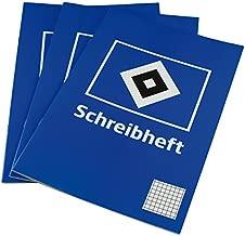 HSV Schreib-Set Notizbuchbuch Gelstift  Hamburger SV