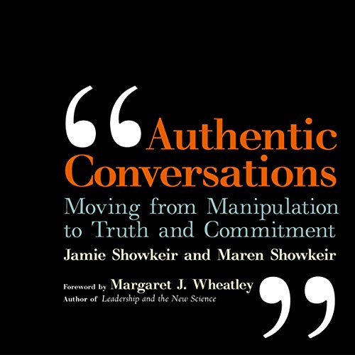 Authentic Conversations audiobook cover art