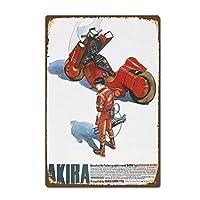 Akira ティンサイン ポスター ン サイン プレート ブリキ看板 ホーム バーために
