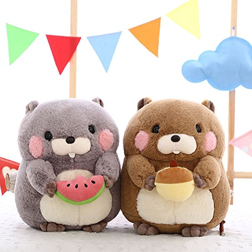 Zantec Spielzeug-Design, niedliches Murmeltier-Spielzeug, Geschenke aus Murmeltier, weich, für Erwachsene und Kinder