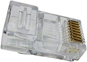 "Conector RJ11 Cat3 6x4""Macho""."