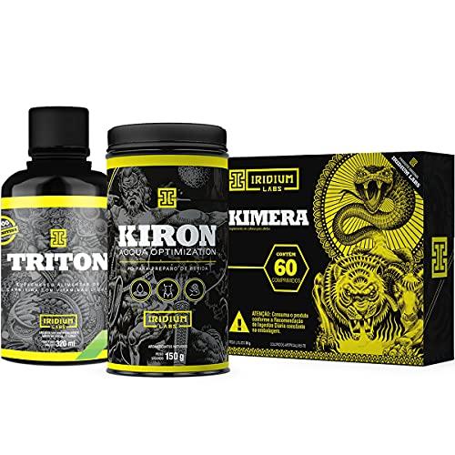 Kit Kimera + Kiron Diurético + Triton L-carnitina