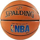 Spalding NBA Logoman - Balón de baloncesto (talla 7), color naranja